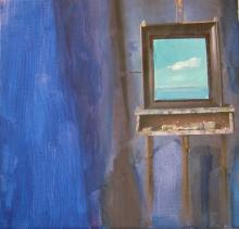 Ausblick ins Blaue
