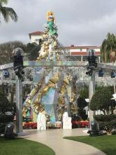 Weihnachtsimpressionen - amerikanischer Weihnachtsbaum!