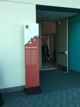 Der Presseraum des ASH Kongresses