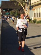 Der 5 km ASH-Run, den Frau Dr. Ortner erfolgreich absolvierte